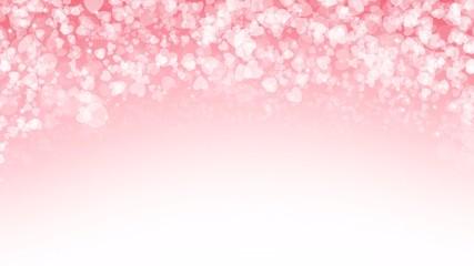 Pink background in Happy Valentine's day