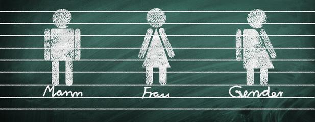 Mann, Frau, Gender - Geschlechter und Gleichstellung
