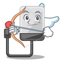 Cupid hard drive in shape of mascot