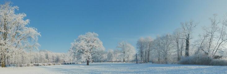 Winterlandschaft - Panorama