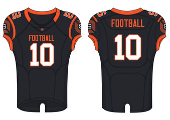 American rugby football jersey