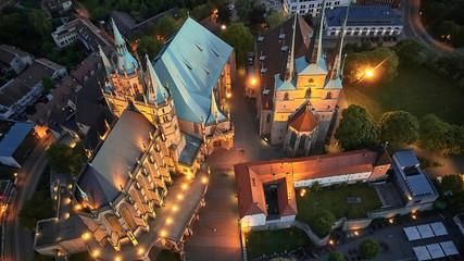 Dom Erfurt Fototapete