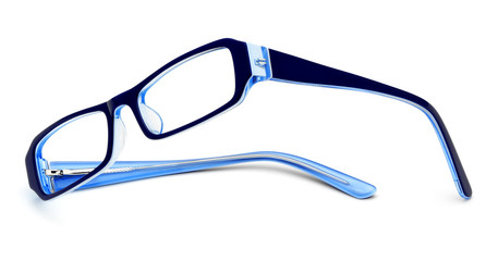 reading glasses for woman isolated
