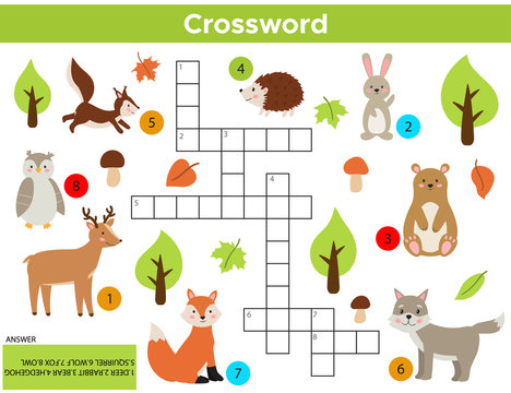 Crossword Puzzle Child Stock Photos And Royalty Free Images Vectors And Illustrations Adobe Stock
