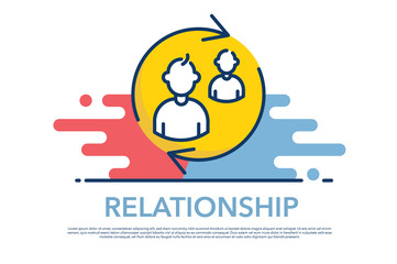 RELATIONSHIP ICON CONCEPT
