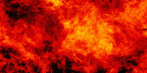 Dramatic pictures of fire flame background as symbol of hell and eternal pain in Christian tradition.