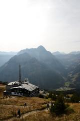 Bergstation am Walmendinger Horn - Alpen
