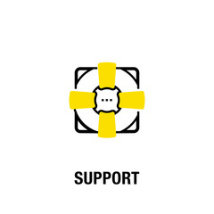 SUPPORT ICON CONCEPT