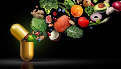 Vitamins Supplements Nutrition