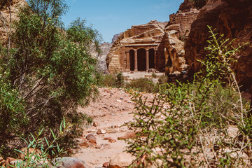 The Garden Hall in Petra, Jordan