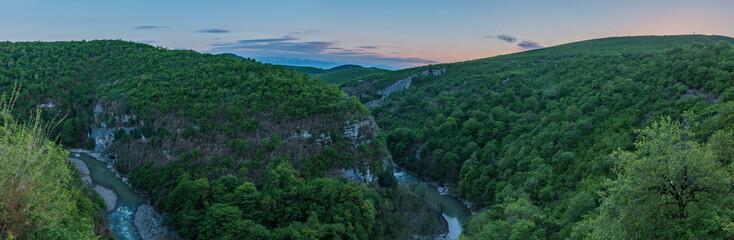 Motsameta Monastery Canyon