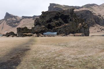 Altes Erdhaus in Island