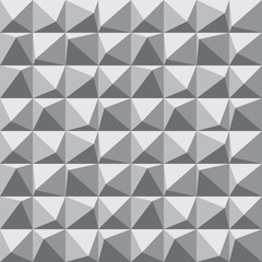 Abstract background geometric seamless pattern in Gray colors. Decorative mosaic. Graphic design. element.