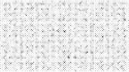 Abstract dots background. Monochrome grunge texture. Halftone Pop Art comic pattern. Polka dot. Geometric vector pattern. Template for presentation flyer, business cards, stickers, report, fabric