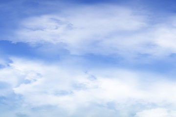 Blue sky texture background template