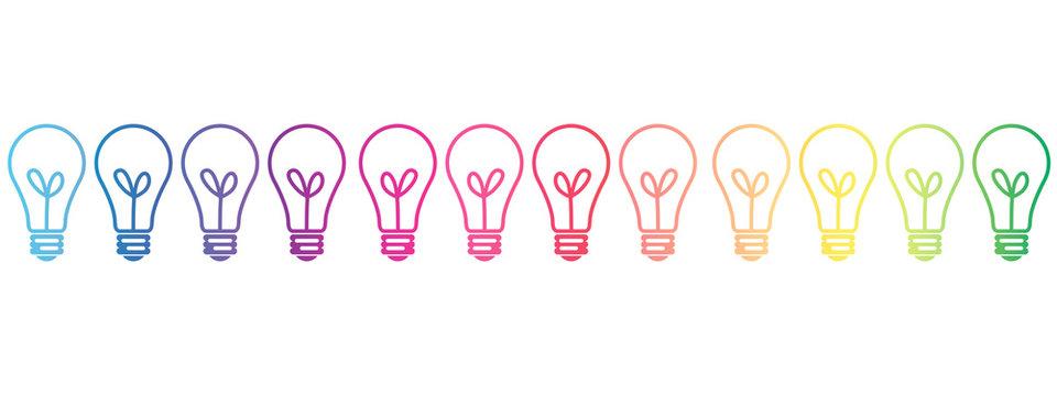 Lightbulb spectrum design