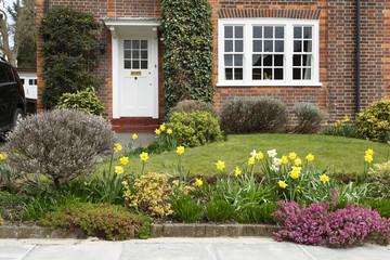 Front garden in London
