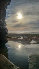Kings Tide Sunset Cliffs