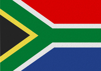 South Africa paper flag