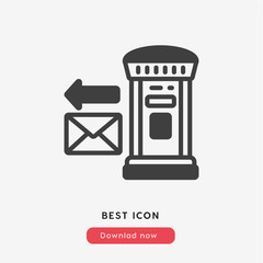 sending e-mail icon vector symbol