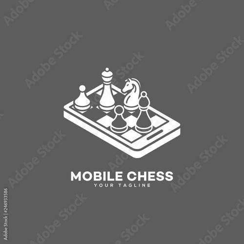 Mobile chess logo