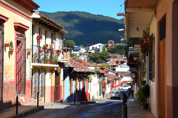 Unique Streets of Oaxaca, Mexico