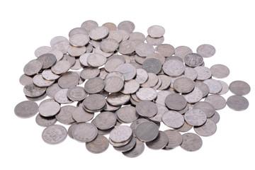 다양한 세계 화폐 돈 금융 컨셉 정물 사진 이미지