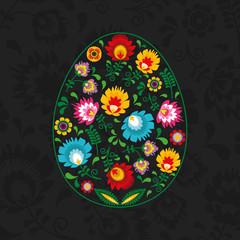 Polski folklor w kształcie jajka - Wielkanoc