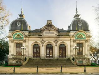 Le Théâtre de la ville de Quimper en Bretagne France - The Theatre of the city of Quimper in Brittany France