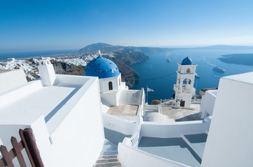 church in santorini greece