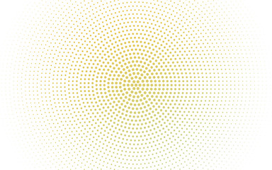 Dark Yellow vector  template with circles.
