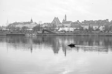 Fototapeta Warszawski Rejs Zimowy obraz