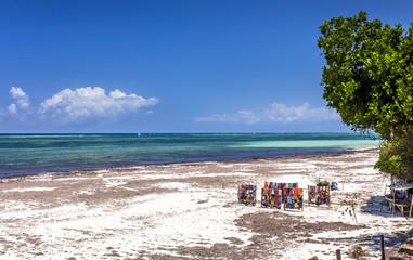 Amazing Diani beach seascape, Kenya Wall mural