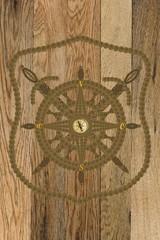 Kompass Anker Steuerrad Globus Windrose