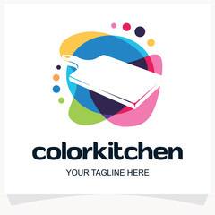 Color Kitchen Logo Design Template Inspiration