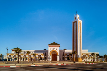 The mosque of the port