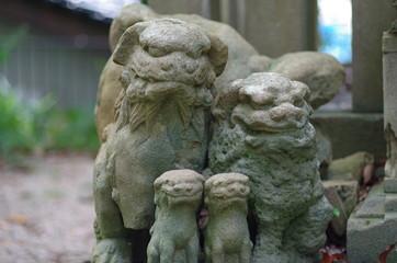 狛犬の家族