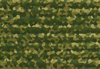 military style army khaki backdrop protective canvas fragmented protective drawing multifaceted kaleidoscope effect