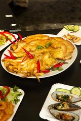 Festival Vietnamese cuisine. Exotic food