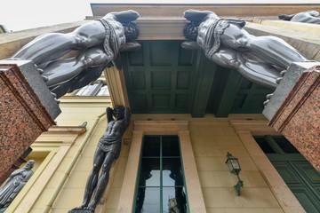 Atlantes, New Hermitage - St. Petersburg Russia