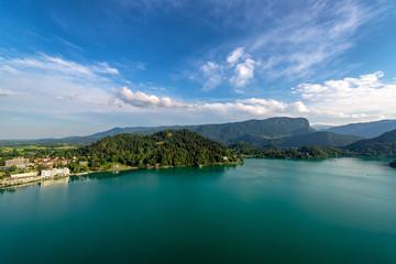 Beautiful Lake Bled Landscape