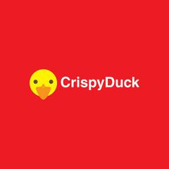 logo fried duck restaurant