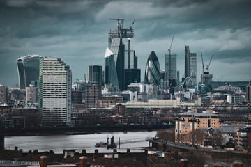 Keuken foto achterwand New York View of the City of London