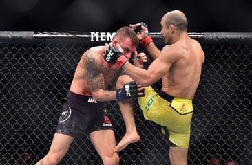 MMA: UFC Fight Night-Fortaleza-Aldo vs Moicano