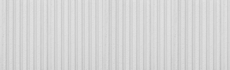 Panorama of Pattern of white cement wall background seamless