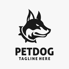 Pet dog logo design