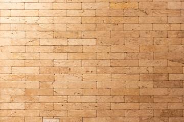 Brown brick wall texture grunge background.