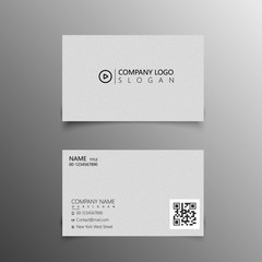 Modern business card template for manager
