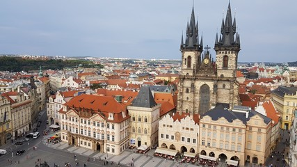 Prague Old Town Square Architecture