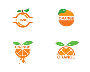 Orange template logo design